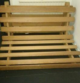 Wooden futon base