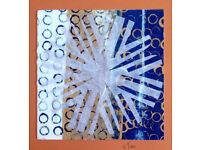 Original Art Snow Crystal Cut Out 2