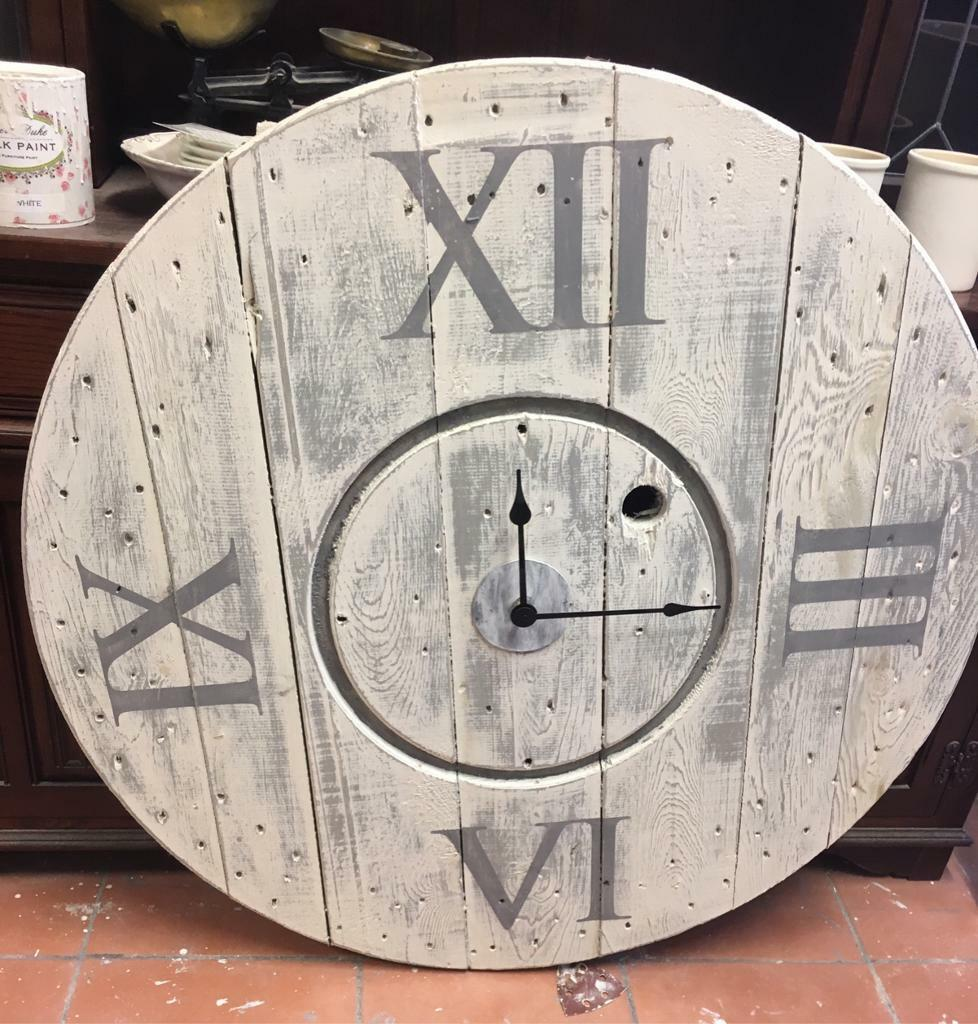 Clock (cable reel )