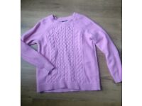 Baby pink Gap jumper