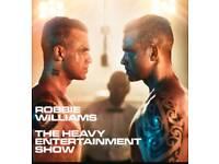 2 x Robbie Williams tickets