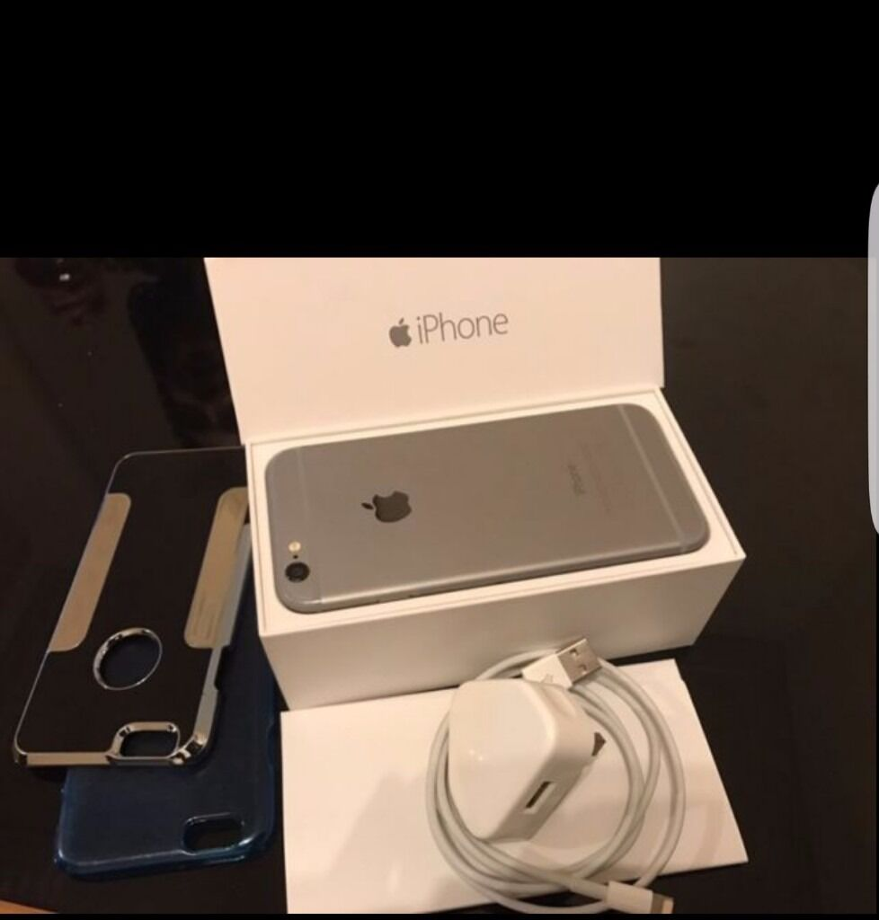 Iphone 16GB space greyin Derby, DerbyshireGumtree - On network EE 16GB Space grey In full working ordee It comes with box, charger and 2 cases Immaculate condition Selling due to upgrading to the iphone 7 £240 ONO Call or text anytime on 07772785786