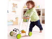 swiss made hape baby galloping zebra walker RRP £50
