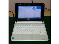 Acer Aspire One ZG5 Netbook - Windows 7 - Wifi Internet