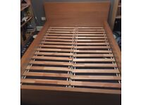 Ikea Double Bed (frame only)
