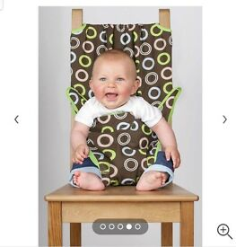 Totseat Portable Baby Seat - Chocolate Chip