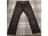Jack Jones dark faded jeans 34 waist, 34 leg - £20