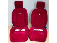 PAIR OF COBRA SPORTS CAR SEATS