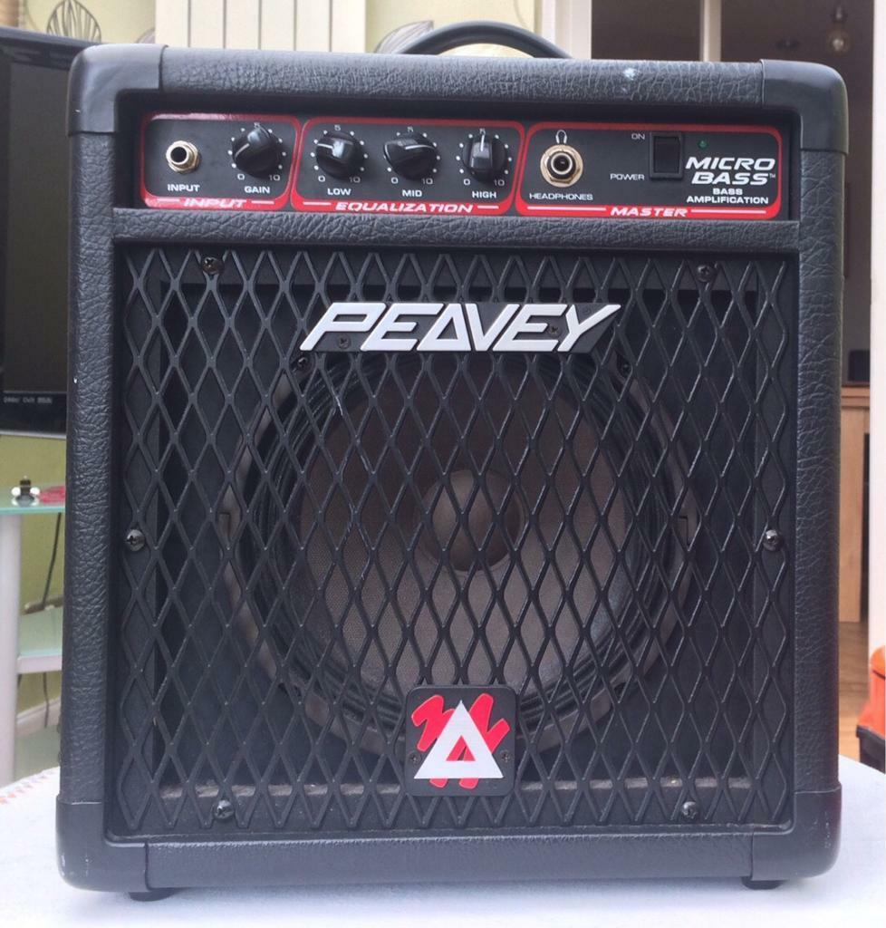 Peavey Bass Guitar Amp 20W