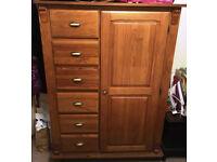 Tallboy Wardrobe - Solid Wood