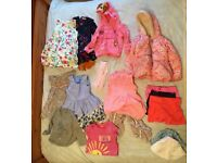 Girls clothing bundle 2-3yr