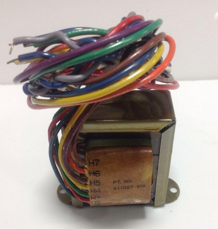 RELIANCE ELECTRIC MULTI-TAP TRANSFORMER 411027-91A /TR-13402