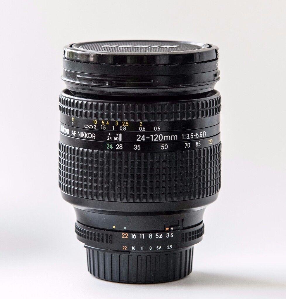 Nikon AF Nikor 24-120mm 1:35-5.6 D lens
