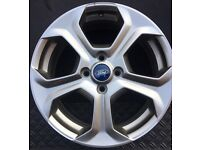 GENUINE FORD FIESTA ST2 17 INCH SINGLE ALLOY USED CONDITION.