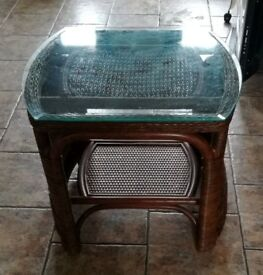 SMALL WICKER TABLE FOR SALE
