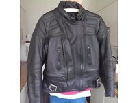 Scott leather bike jacket, very good condition