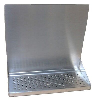 Draft Beer Tower Wall Mt Drip Tray 15 Long W S.s. Grill Drain Dtwm15ss