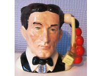 Royal Doulton character/toby jug - The Snooker Player