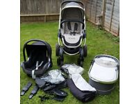 iCandy Peach 3 Stroller Pushchair Buggy Pram Travel System Maxi Cosi Car Seat