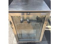 LEC DRINK FRIDGE UNDERCOUNTER GLASS DOOR FREE DELIVERY AND WARRANTY
