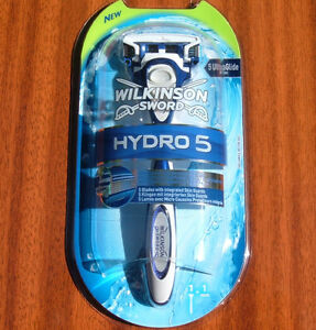 3x-WILKINSON-SWORD-HYDRO-5-RAZOR-WITH-1-BLADE-BRAND-NEW-TOTAL-OF-3-RAZORS-BLADES