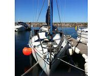 Miura 31 - GRP Fin Keel Sailing Yacht - 1977 - Swap MGB/XJS WHY