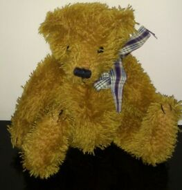 Heartfelt Teddy Bear, 9 inches, never been hugged