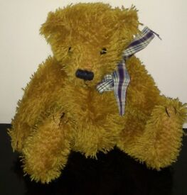 Heartfelt Teddy Bear, 9 inches, never been hugged