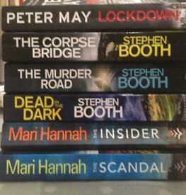 Paperback crime novels