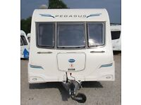 BAILEY PEGASUS 2 GENOA 2012 *REGISTERED 2013* 2 BERTH CARAVAN