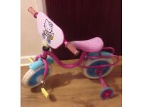 Hello kitty child's bike. Used but In very good condition.