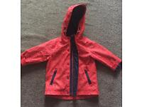 Boys Next Fleece Lined Coat - 12-18 months