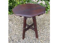 Handmade C19th FRENCH COUNTRY Solid OAK Occasional, Sofa, Side or lamp TABLE, Lovely Design