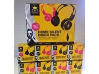 30 sets Silent Disco Headphones with Transmitter