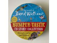 David Walliams audio book set - brand new