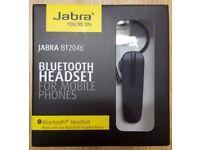 Genuine Jabra bt2046 wireless Bluetooth universal headset hands free for iPhone and Samsung