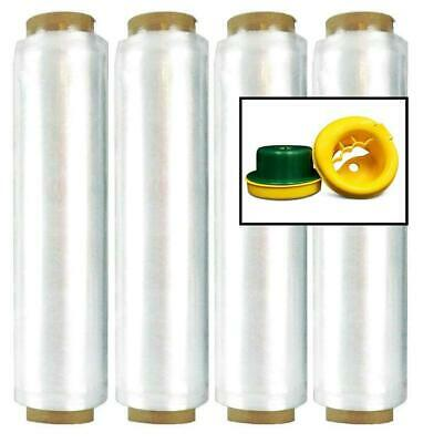 4 Rolls Pre-stretch Hand Wrap 17 X 1476 30 Ga Plastic Shrink Film Hand Saver