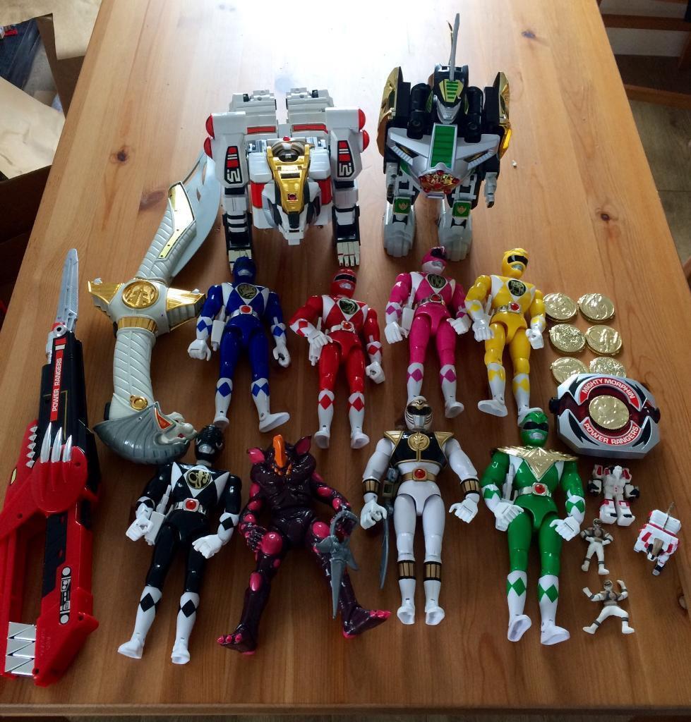 ORIGINAL Power Rangers Collection
