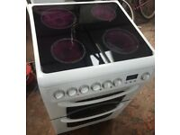 Hotpoint 62DCWS Electric Cooker with ceramic top, 60cm width