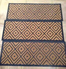 3 doormats for sale