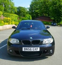 BMW 1 SERIES 118D M SPORT *LOW MILEAGE 85K*