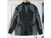 Motorcycle Jacket, Waterproof, Vented & Thermal, inc Armour. New & Unused!
