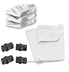 Karcher steam cleaner hand tool terry cloth covers sc1002 sc1020 brush nozz - Nettoyeur vapeur pour tissu ...