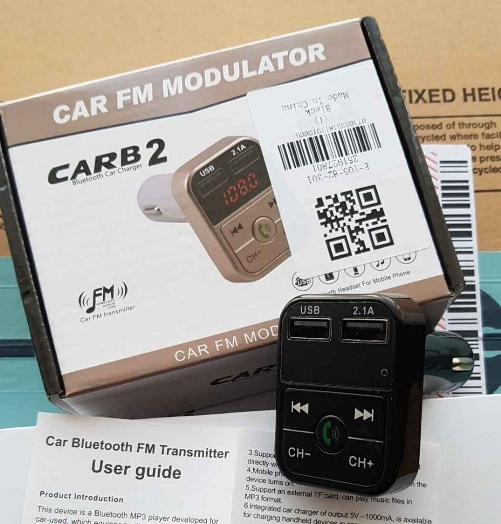 Car Bluetooth Kit Wireless Fm Transmitter 24a Usb Charger 10 4 Transistor