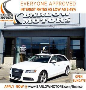 2011 Audi A4 2.0T Premium*AMVIC INSPECTION & CARPROOF PROVIDED