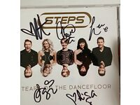 Signed Steps CD
