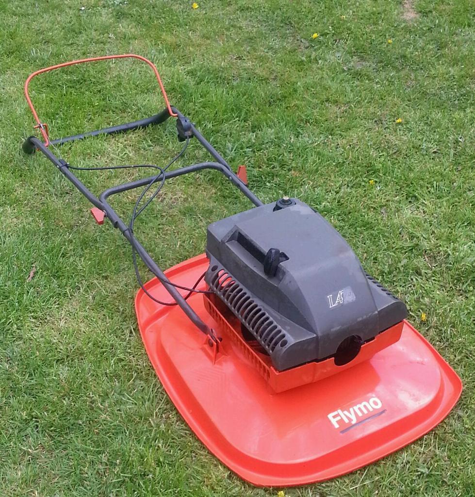 flymo l470 hover mower 2 stroke petrol lawnmower in. Black Bedroom Furniture Sets. Home Design Ideas