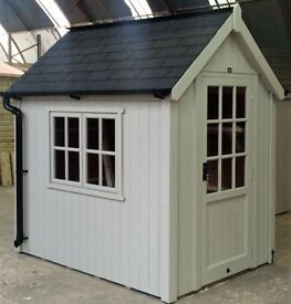 POSH SHED Luxury Garden Potting Shed Ply-Lined Shingle Tiled Roof 7X5