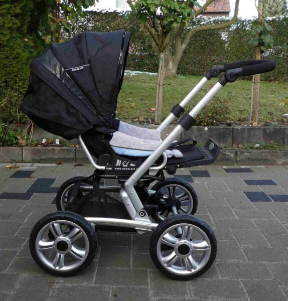 gesslein kombi kinderwagen in baden w rttemberg marbach am neckar kinderwagen gebraucht. Black Bedroom Furniture Sets. Home Design Ideas