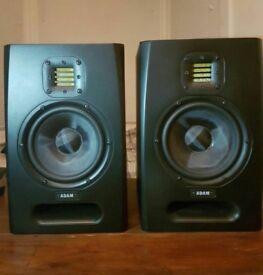 Adam F5 powered monitoring speakers (Pair)